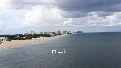 Photograph - Ft Lauderdale Florida by Florene Welebny