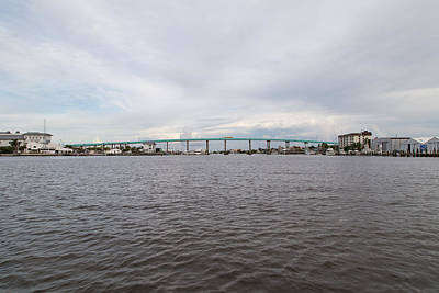 Photograph - Ft Myers Beach - Bridge South by Christopher L Thomley