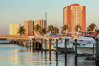 Photograph - Ft Myers Evening by Brian Jannsen