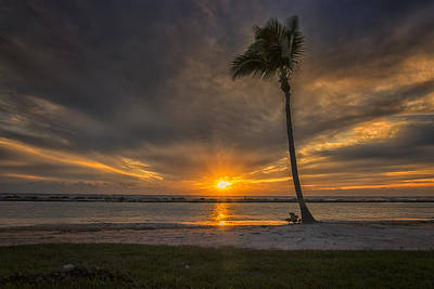 Photograph - Ft Myers Florida Sunset Dsc01055_16 by Greg Kluempers