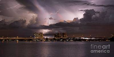 Ft Myers Nights Art Print