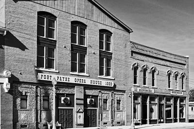 Photograph - Ft. Payne Opera House by George Taylor