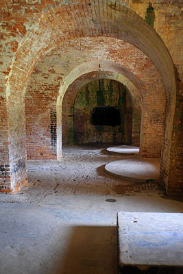 Photograph - Ft. Pickens Interior 3 by George Taylor