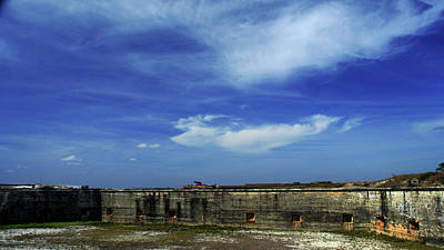 Photograph - Ft. Pickens Sky 2 by George Taylor