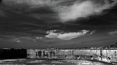 Photograph - Ft. Pickens Sky by George Taylor