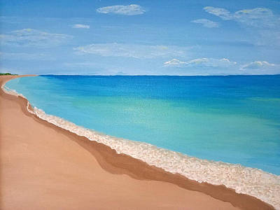 Painting - Ft. Pierce Inlet, Fl by Jennifer Lindquist