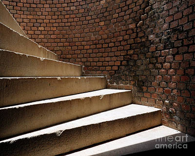 Photograph - Ft. Taylor Stairs by David Chalker