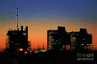 Photograph - Ft Worth Dawn by Diana Mary Sharpton