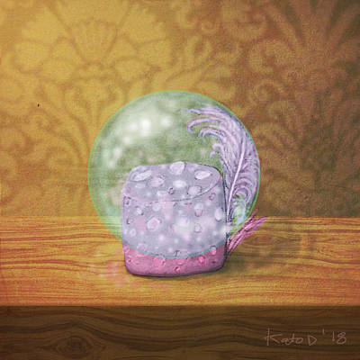 Bird Wall Art - Digital Art - Ftf In A Bubble by Kato D