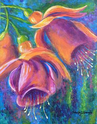 Painting - Fuchsia by Amelie Simmons