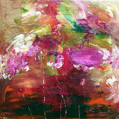 Painting - Fuchsia Burst by Davina Nicholas
