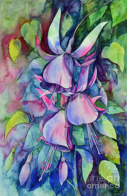 Painting - Fuchsia Valse by Zaira Dzhaubaeva