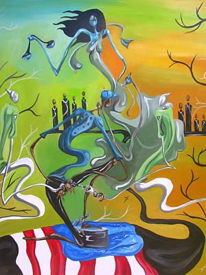 Fleurant Painting - Fuckurbreath by JaFleu