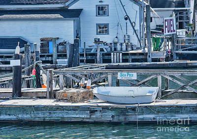 Photograph - Fuel At The Docks by Alana Ranney