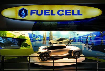 Fuel Cell Tech Art Print