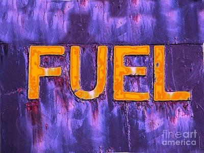 Photograph - Fuel Danger by Yali Shi