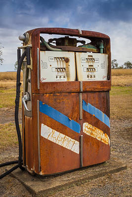 Canon 6d Digital Art - Fuel Pump by Keith Hawley