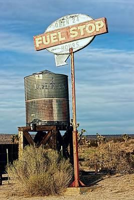Er Photograph - Fuel Stop - Fill-er Up by Chrystyne Novack