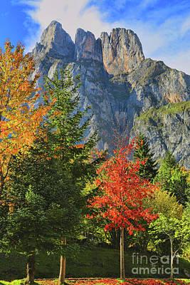 Photograph - Fuente De Los Picos De Europa 3 by Diana Raquel Sainz