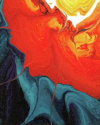 Painting - Fugal Fissures by Lon Chaffin