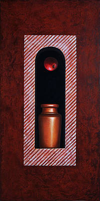 Jars Painting - Fugitive Apple Essence by Horacio Cardozo