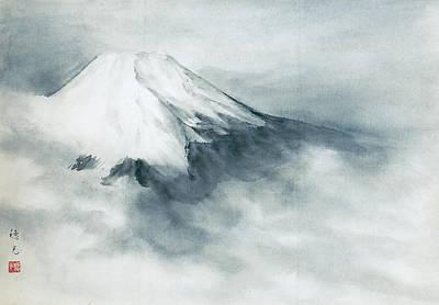 Fuji - Fresh Snow Art Print by Suiko Sakurai