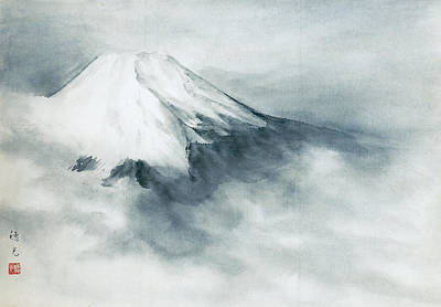 Fuji - Fresh Snow Art Print by Suiko Sakurai