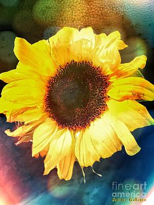 Enlightening Mixed Media - Fulfillment  by Sandra Gallegos