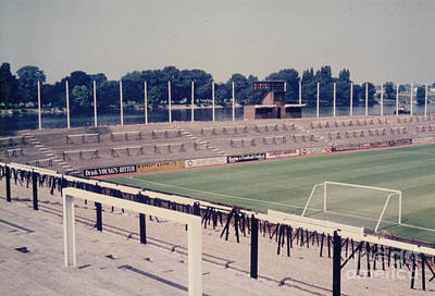 Fulham Photograph - Fulham - Craven Cottage - Riverside Stand 1 - September 1969 by Legendary Football Grounds