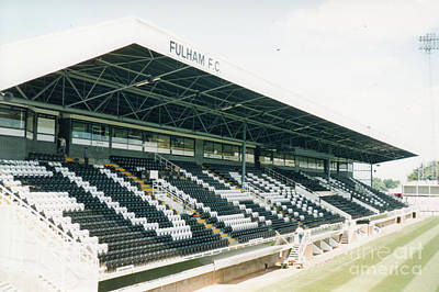 Fulham Photograph - Fulham - Craven Cottage - Riverside Stand 4 - August 1998 by Legendary Football Grounds
