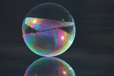 Photograph - Full Bubble by Cathie Douglas