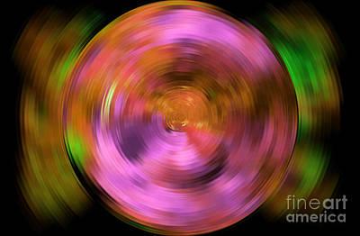 Modern Abstract Digital Art Digital Art Digital Art - Full Circle by Krissy Katsimbras