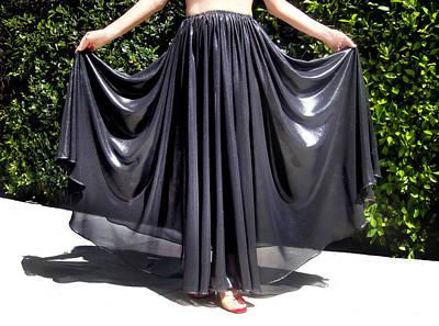 Full-circle Skirt. Ameynra Gothic Fashion. 7.17 245 Art Print