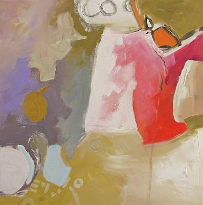 20x20 Painting - Full Disclosure by Linda Monfort