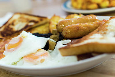 Photograph - Full English Breakfast by Jacek Wojnarowski