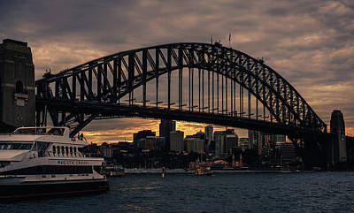 Photograph - Full Harbour Bridge by Nisah Cheatham