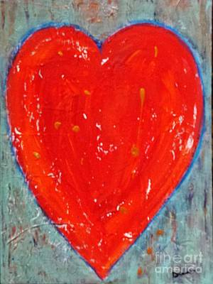 Painting - Full Heart by Diana Bursztein
