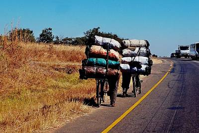 Photograph - Full Load In Malawi by Dora Hathazi Mendes