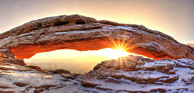 Photograph - Full Mesa Sunburst by David Andersen