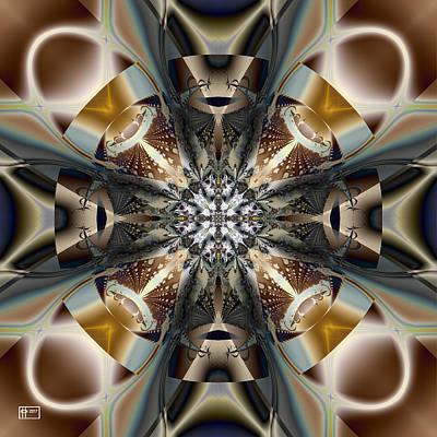 Digital Art - Full Metal Waistcoat by Jim Pavelle