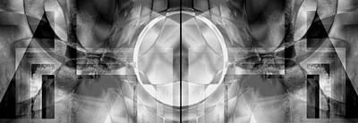 Digital Art - Full Moon by Art Di