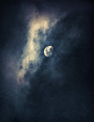 Photograph - Full Moon Blues by Jennie Marie Schell