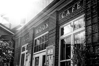 Photograph - Full Moon Cafe by David Sutton