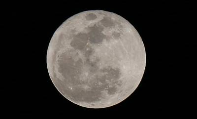 Photograph - Full Moon  by Christy Pooschke