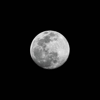 Singapore Photograph - Full Moon by CP Cheah
