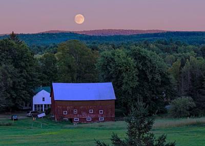 Photograph - Full Moon From High Street by Sven Kielhorn