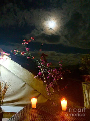 Photograph - Full Moon Guatemala by Carey Chen