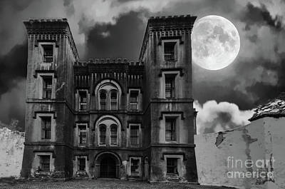Photograph - Full Moon Jail House Blues by Dale Powell