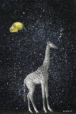 Carl Sagan Painting - Full Moon by Jonathan Plotkin