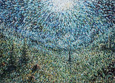 Painting - Full Moon by Mariusz Zawadzki